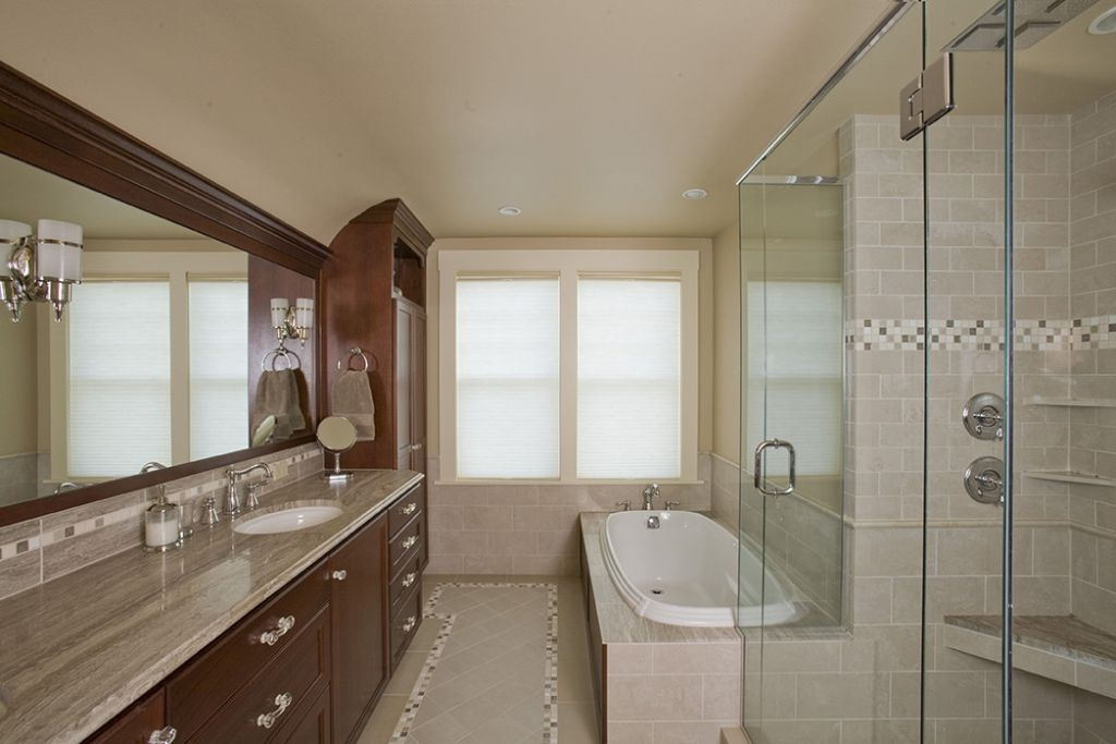 Irvington Tudor Remodel Custom Bathroom Design Remodel Portland